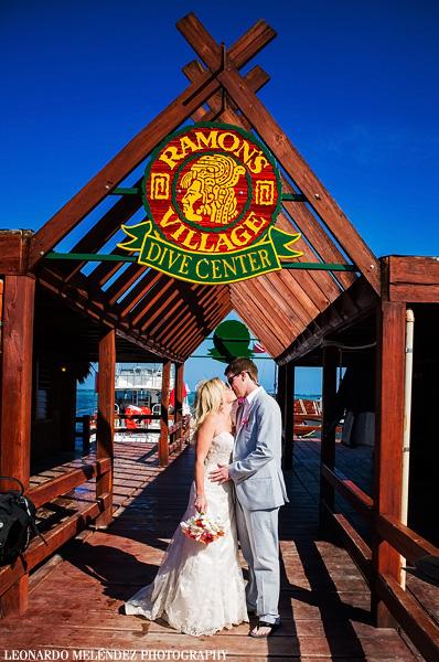 Ramon's Village. Belize wedding photography by Leonardo Melendez Photography.