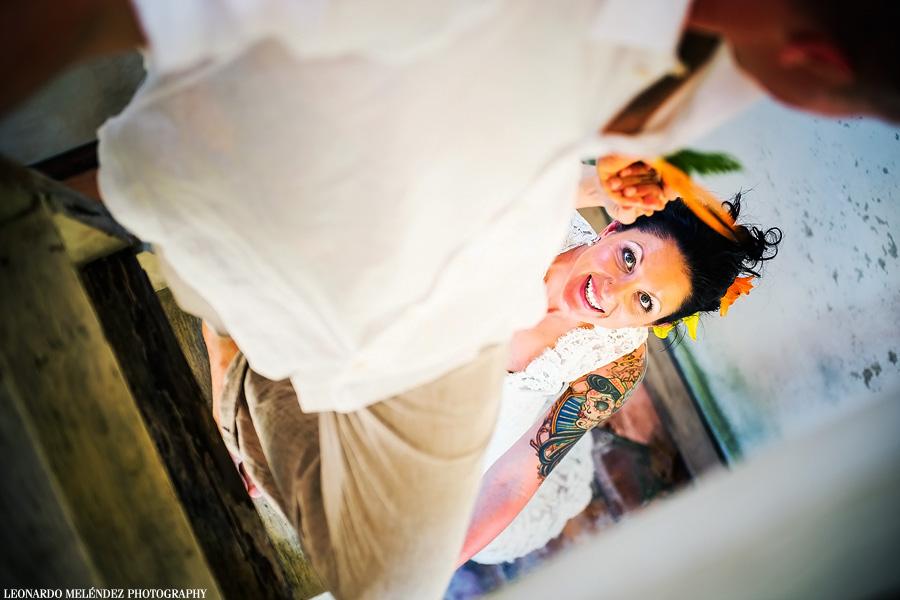 Belize wedding photography by Leonardo Melendez Photography.