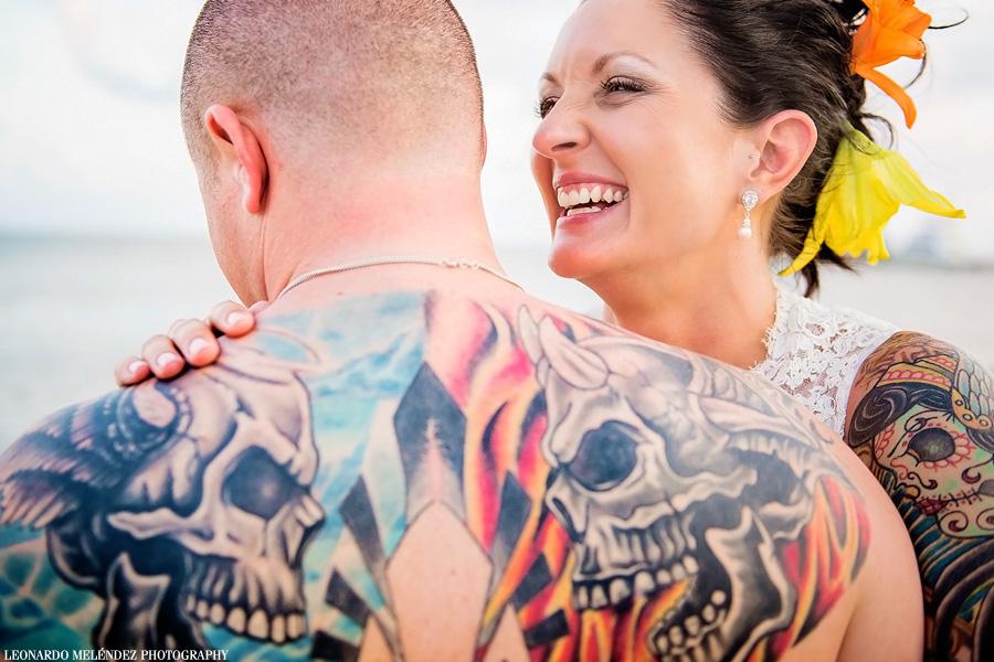 Belize wedding photography, Coco Beach Resort wedding.  Leonardo Melendez Photography.