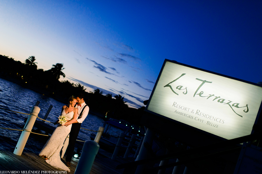 Belize wedding photography, Las Terrazas, Belize wedding