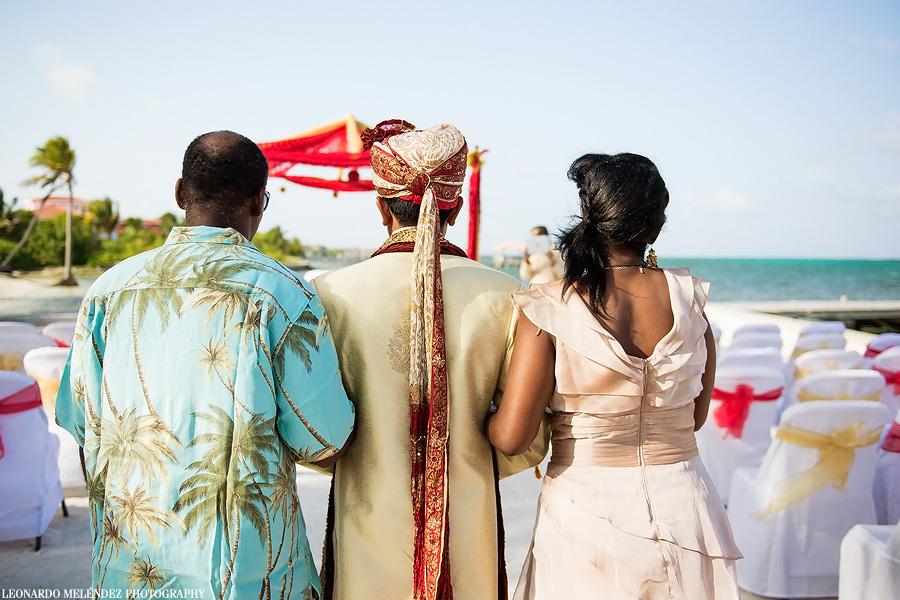 Hindu wedding. Leonardo Melendez Photography.