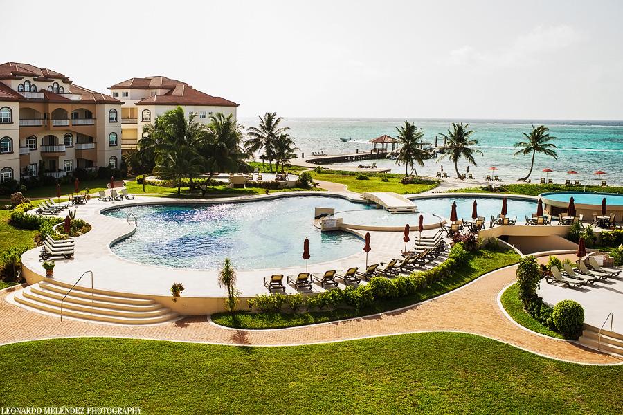 Grand Caribe Resort, Ambergris Caye Belize. Leonardo Melendez Photography.