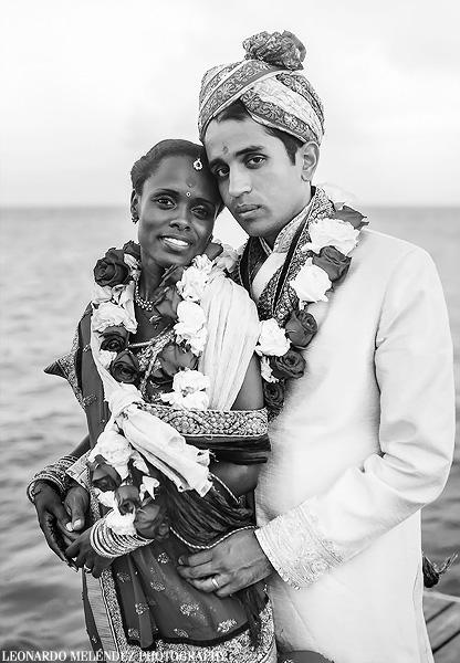Belize Hindu wedding photography by Leonardo Melendez Photography.