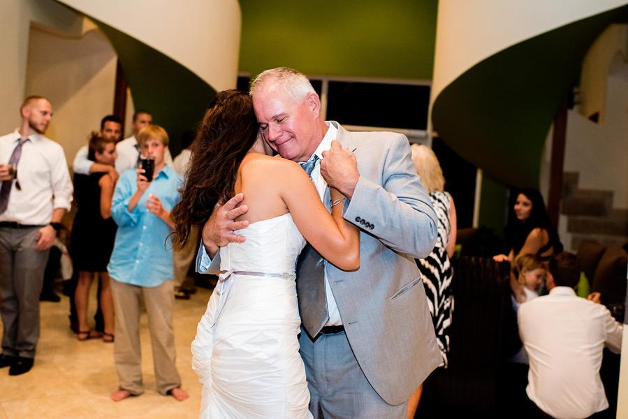 Wedding reception at Grand Caribe Belize. Belize Wedding Photography by Leonardo Melendez Photography