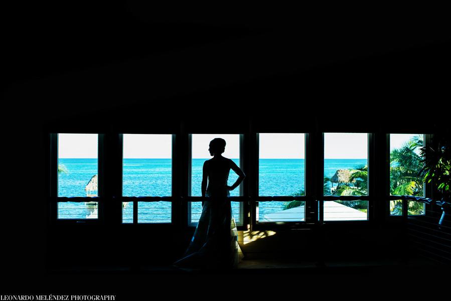 Belize wedding at Wataview Beach House