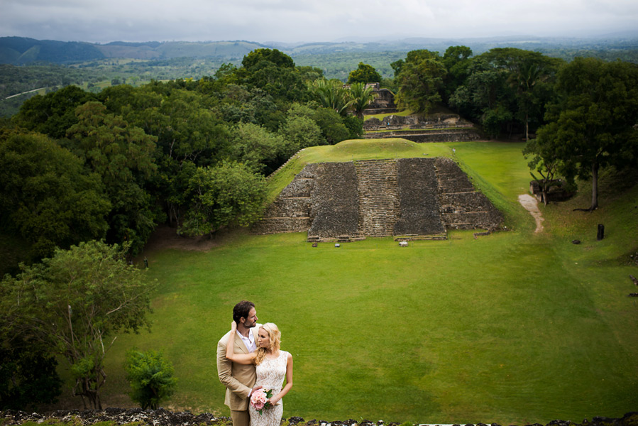 xunantunich wedding belize